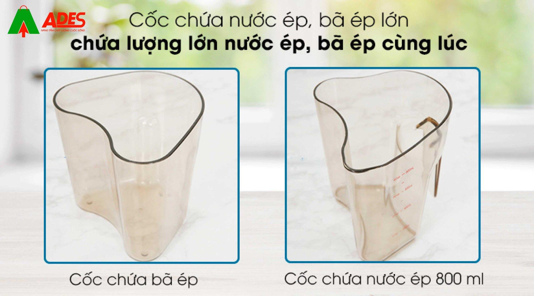 coc chua nuoc ep ba lon may ep kalite kl 599